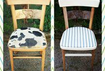 sedie / nuova vita a sedie abbandonate
