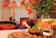 Joulupöydässä