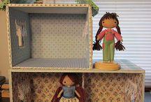 casas muñeca y miniaturas