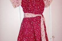 Kleid Jona / Selbstgenähtes Kleid aus Baumwolle nach Schnitt von Schnittchen.com scnitt Joana