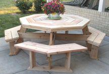 Столы для пикника