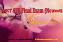 MKT 575 Final Exam (Newest)