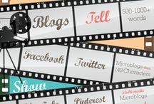 SOCIAL MEDIA | INFOGRAPHICS / Curating Infographics about Social Media #socialmedia #infographic