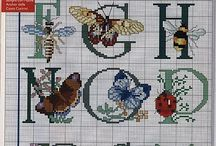 Cross stitch / Sewing