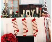 The Christmas Mantel