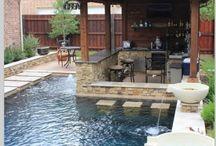 small swimming pools backyard