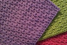 Dishcloths / Knitting or Crocheting patterns