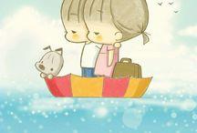 Ato sweet illustration