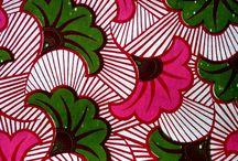 tissu dessin africain