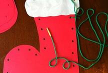 Knutselen kerst/oud en nieuw