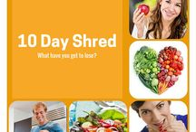 Shred10 / Perfect info for the Shred 10 with healthy recipes, nutrition tips, natural detox and fitness for weight loss