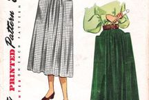 Skirts with pockets / by Becky Lewis