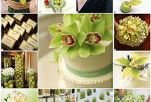 Green wedding pallets / Green wedding inspiration