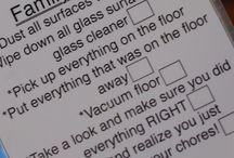 Chores kid stuff / by Kim Eddleman