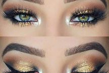 Green eyes makeup inspo