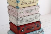 suitcases / walizki / by Old New Style