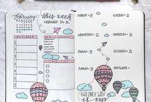 bullet journaling...
