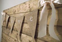 Burlap diy projects
