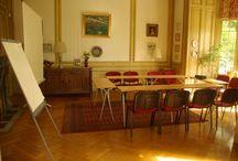 Salle de réunion, séminaire / Organiser une réunion professionnelle, une formation, un atelier, un séminaire ou un cocktail dans une belle salle, atypique et fonctionnelle