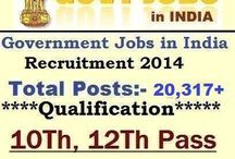 Indian Government Jobs / Further Detailed Information Regarding Educational Qualifications, Age Limit, Selection Procedure, Exam Pattern, Syllabus...