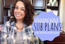 Sub Plans / teaching