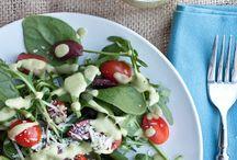 recipes-salads / by Lee Diamond