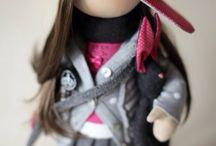 Большеножки / Куклы по мотивам дизайнера Т. Коннэ