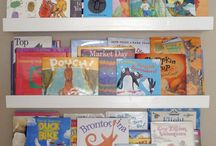 Maddie's book shelves