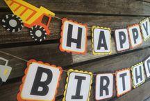 Happy Birthday Constrution