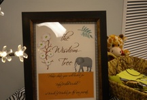 Baby Shower / Baby Shower with a Safari/Jungle theme that I created for my daughter :)