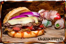 Burgers / Creating a great Burger starts from love to Burger itself!