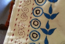 Vocational Training - Embroidery class / For youngsters living in a slum it is very important to gain vocational skills in order to get a job