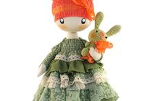 Rag Dolls / #ragdoll #ragdolls #handmade #cloth #doll #dolls #girl #gift #gifts #raggedy #ann #baby #waldorf #toddler #child #children #toy #toys #collectible #european #home #decor #decoration #steiner #natural #cute #kawaii