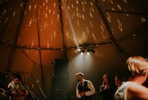 Lucy & Jules' Rock n Roll Tipi Wedding