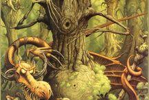 Alice in W:Rodney Matthews / Alice in wonderland (illustrator)