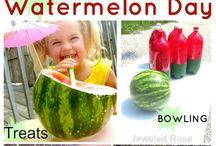 watermelon theme / by Angela Courtney