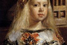 Les Ménines et Infantes Espagnoles . Passion / Les Ménines et Infantes sous toutes leurs formes, tous artistes des plus célèbres aux moins connus, tous styles, toutes époques............