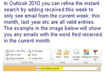 Outlook tips