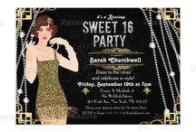 Great Gatsby Sweet 16