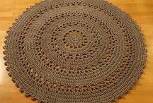 dywanik z wloczki