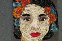 Mosaic Faces , By Kat Gotttke