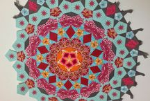 La Passacaglia Quilt / English Paper Piecing Quilting / by Julie Taylor