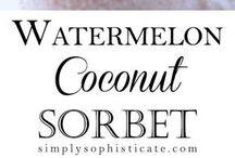 Ice cream & Sorbet