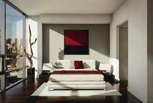 Minimalist interior design.