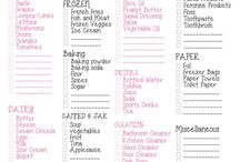 Printables for Home Organization