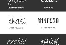 Font-tastic / Examples of beautiful lettering and such...