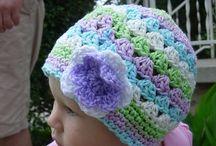 crohet baby hat