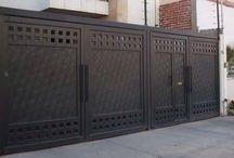 puertas hierro exterior