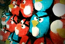 Angry Birds Birthday theme / Children's party ideas. / by Esterlita B.