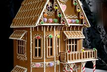 Gingerbread house/Pepparkakshus